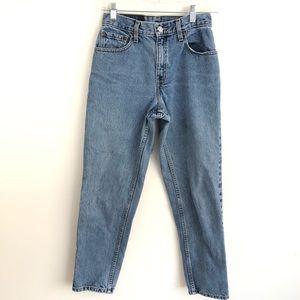 Vintage Levi's 550 high waist mom jeans- Short